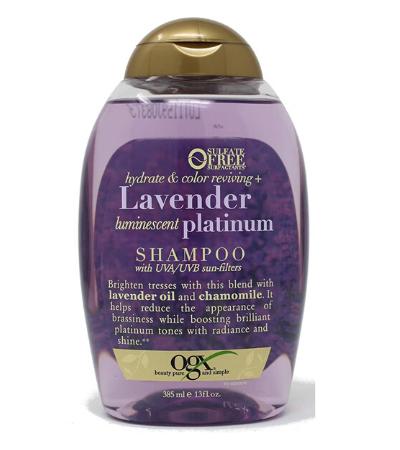 ogx lavender shampoo reviews