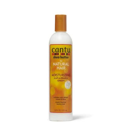 Cantu Natural Hair Moisturizing Curl Activator Cream Review