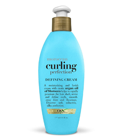 OGX Moroccan Curling Perfection Defining Cream Review