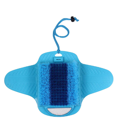 Ollieroo Shower floor foot scrubbers brush with Pumice Bristles Review
