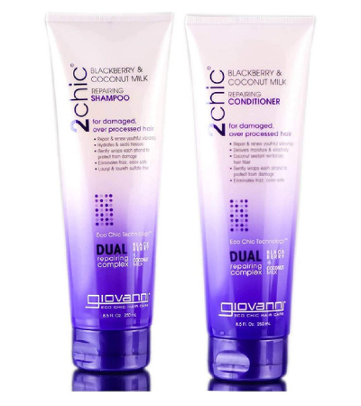 GIOVANNI 2chic Repairing Shampoo & Conditioner Set Review
