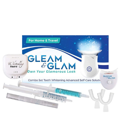 GLEAM&GLAM Teeth Whitening Kit