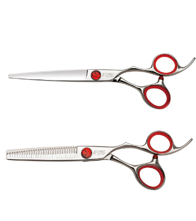 EAGLE SHARP Professional 6.0-inch Cutting & Thinning Scissors Kit